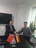 Welcome Germany Customer visiting Shanghai Reliance Alu Co.,Ltd