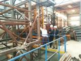 Bangladesh Agent Comes to Visit Tavol Factory