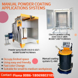 Promotion for Small scale combination of powder coating machine ,booth and oven