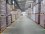 Warehousing of aerosol cans