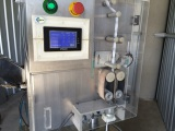 Silica gel sachet inserter machine