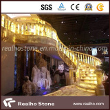 Yellow Onyx Stair Cases Projects for Clubs