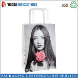 Newly designed paper shopping bag for ladies