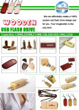 Products Catalogue-Wooden USB Flash Drives