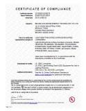 UL &CSA certification for Led lighting