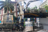 Machine Packing and Delivery