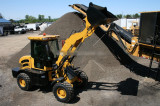 1.8ton wheel loader work in America