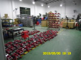 Red clamp assembling and packing