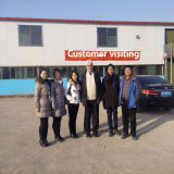 customer visit to our factory