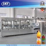 Full Automatic Fresh Juice with Pulp Filling Machine 3-in-1