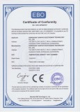 CE Certificate of Temperature Humidity Test chamber