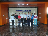 Distributors come to our factory for training