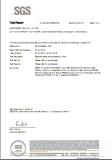 Copper PLA SGS Test report