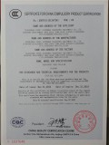 CCC of TRANSPORT SEMI TRAILER
