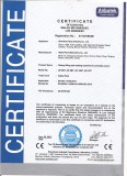CE certificate for doy pack packing machine