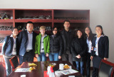 Customers from Russia visited our factory