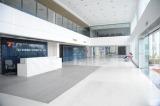 office building reception hall