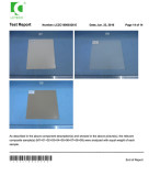 reach certificate for varoius material′s rubber sheet/rubber mat