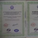 ENVIROMENT ISO CERTIFICATION