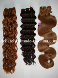 100% remy hair weft