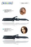 2014 New design Black Triple Barrel Curling Iron