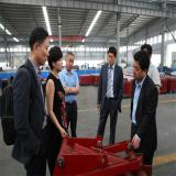 Customers visit my factory
