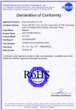 GPS PHONE WATCH RoHS certificate