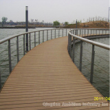 WPC decking application