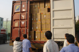 20′ foot container shipment