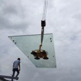 Glass Curtain Wall Installation 4