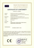 (EMC)CE Certificate for EDS800 Series