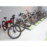 Electric bike show room