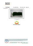 This Test certification show the Fire Classification of our artificial grass