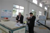 Spanish customers visit to plant inspection equipment