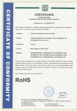 RoHS of High Voltage LED Strip