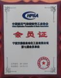 Pneumatics Association Certificate