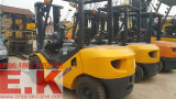 20 to 80sets Komatsu, Toyota, TCM forklifts arriving at company yard