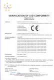 Verification of LVD conformity