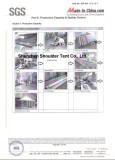 Certifications of Shenzhen Shoulder Tent Co., Ltd.
