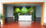Reception area of Shanghai office