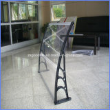 outdoor polycarbonate awning /doors canopy rain shelter