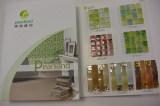 Glass mosaic sample book
