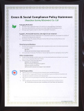 Green and Social Compliance Policy Statement