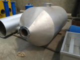 dedust tank for pyrolysis and distillation plant