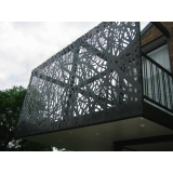 Laser Cut Outdoor Garden Fence