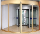 Automatic arc door