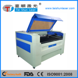 13090 60W Co2 laser cutting paper and engrave stamp machine