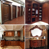 Wood furniture integrated wood home decoration