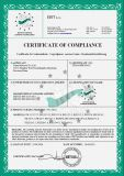 CE certificate by ISET