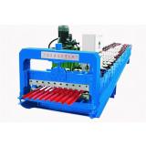 760 Roller shutter door roll forming machine factory